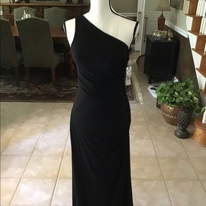 Black evening gown NWT